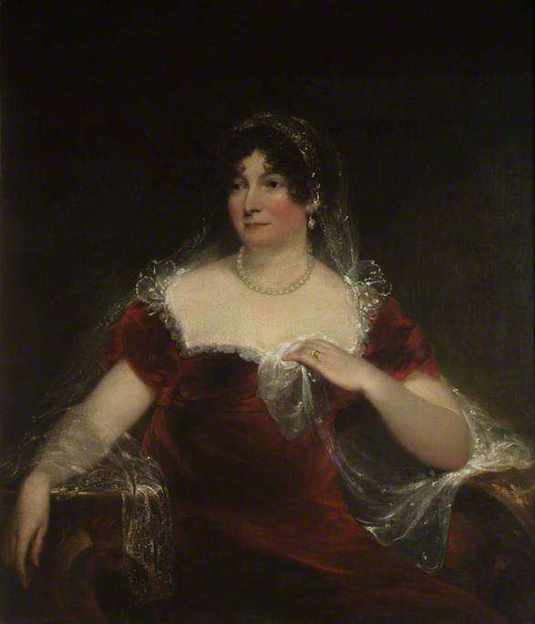 Lady Elizabeth Smyth (1771–1840), Oil On Canvas by William Armfield Hobday
