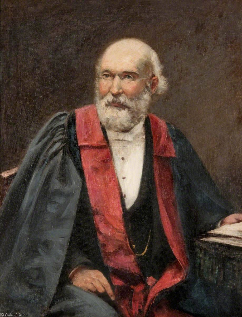Andrew Fergus (1827–1887), MD, MRCS, Oil On Canvas by John Henderson (1797-1878)