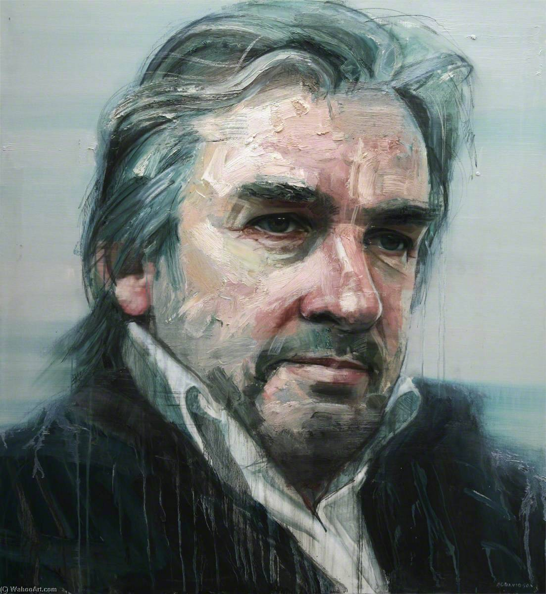 Portrait of Barry Douglas, 2012 by Colin Davidson | Museum Quality Reproductions | WahooArt.com