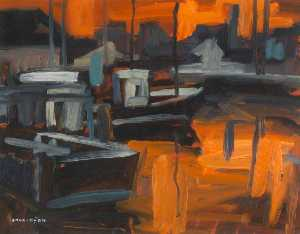 Colin Davidson - Boats in Harbour