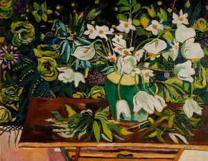 Theodore Garman - Arum Lilies (Easter Flowers)