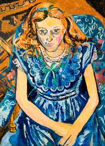 Theodore Garman - The Blue Girl