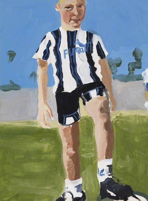 Untitled (No.4), 1996 by Chantal Joffe | Painting Copy | WahooArt.com