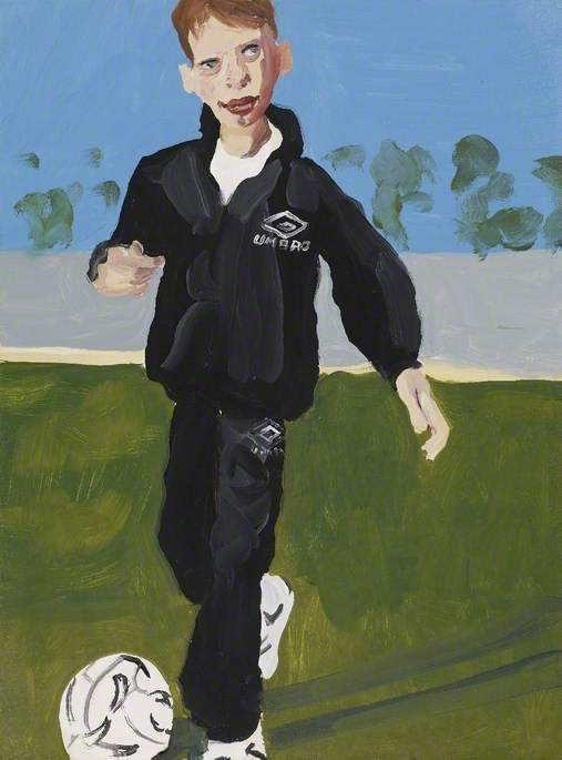Untitled (No.6), 1996 by Chantal Joffe | Famous Paintings Reproductions | WahooArt.com