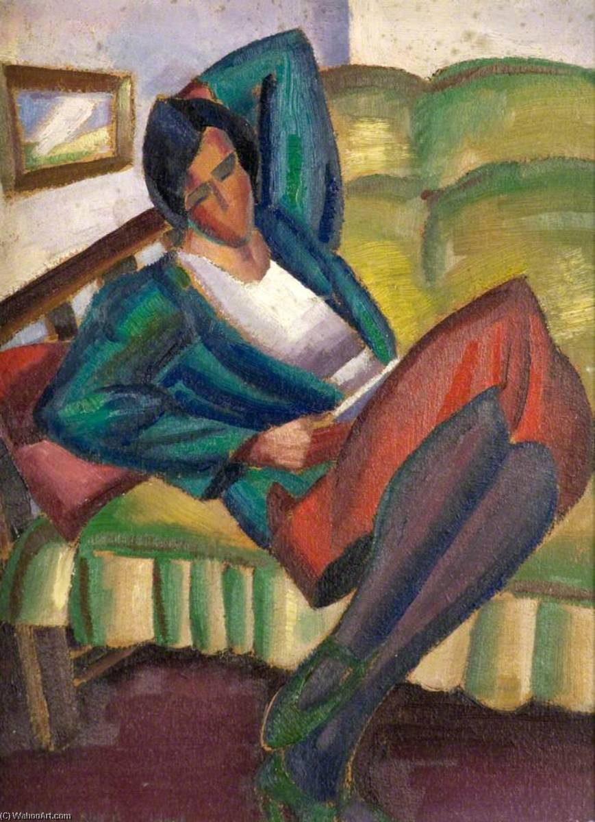 Seated Figure (Lucy), 1929 by William Mccance | Museum Quality Reproductions | WahooArt.com
