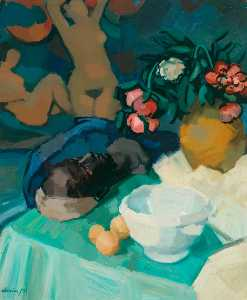 Denis Frederic Neal Peploe - Study of Fruit and Flowers