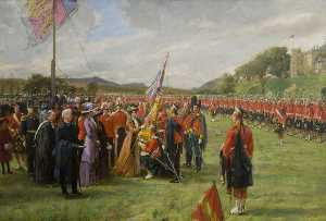 Sydney Prior Hall - Presentation of the Colours