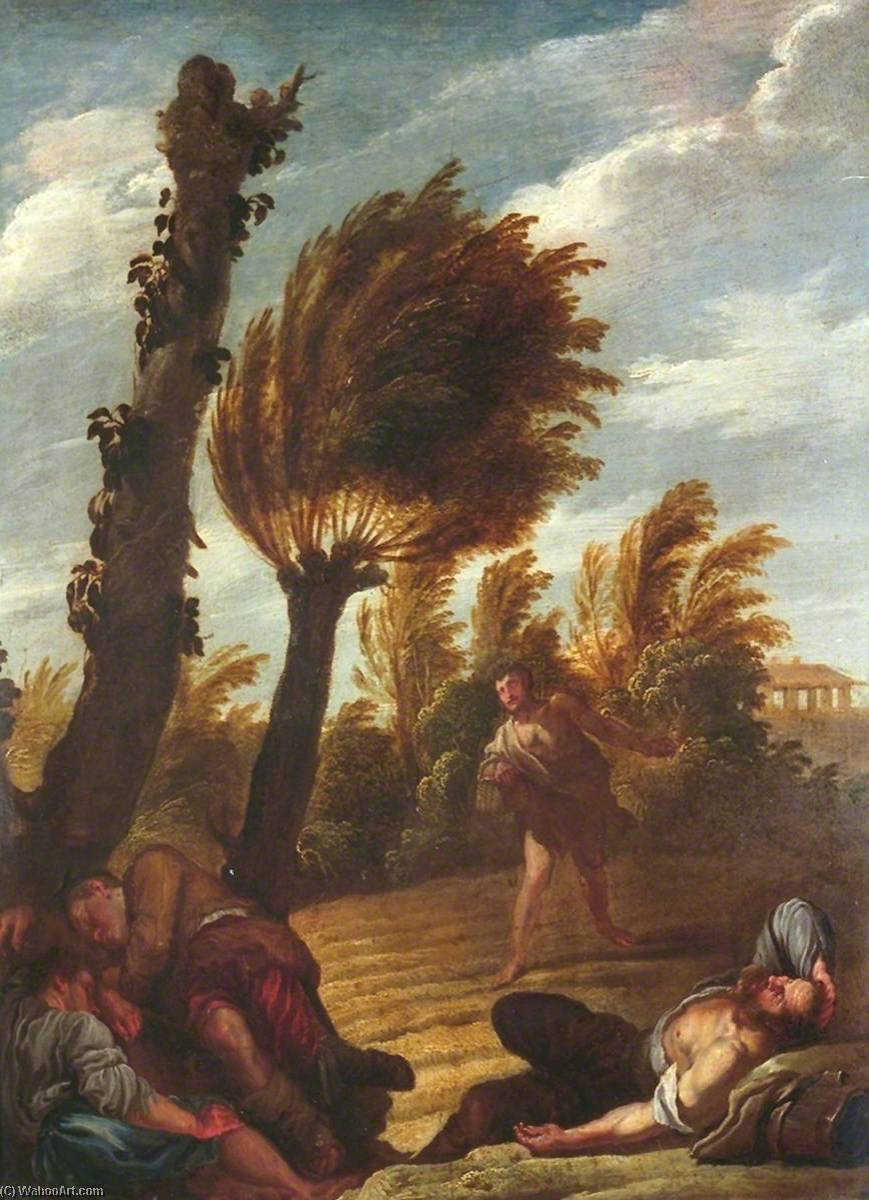 Parable of the Sower of Tares, Oil On Panel by Domenico Feti (Domenico Fetti) (1589-1623, Italy)