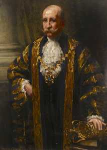 George James Coates - Alderman H. Lyon Thomson, Mayor of Westminster (1912–1913)