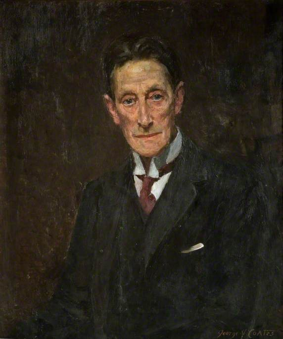 Sir Johnstone Forbes Robertson (1853–1937) by George James Coates (1869-1930, United States) | Reproductions George James Coates | WahooArt.com