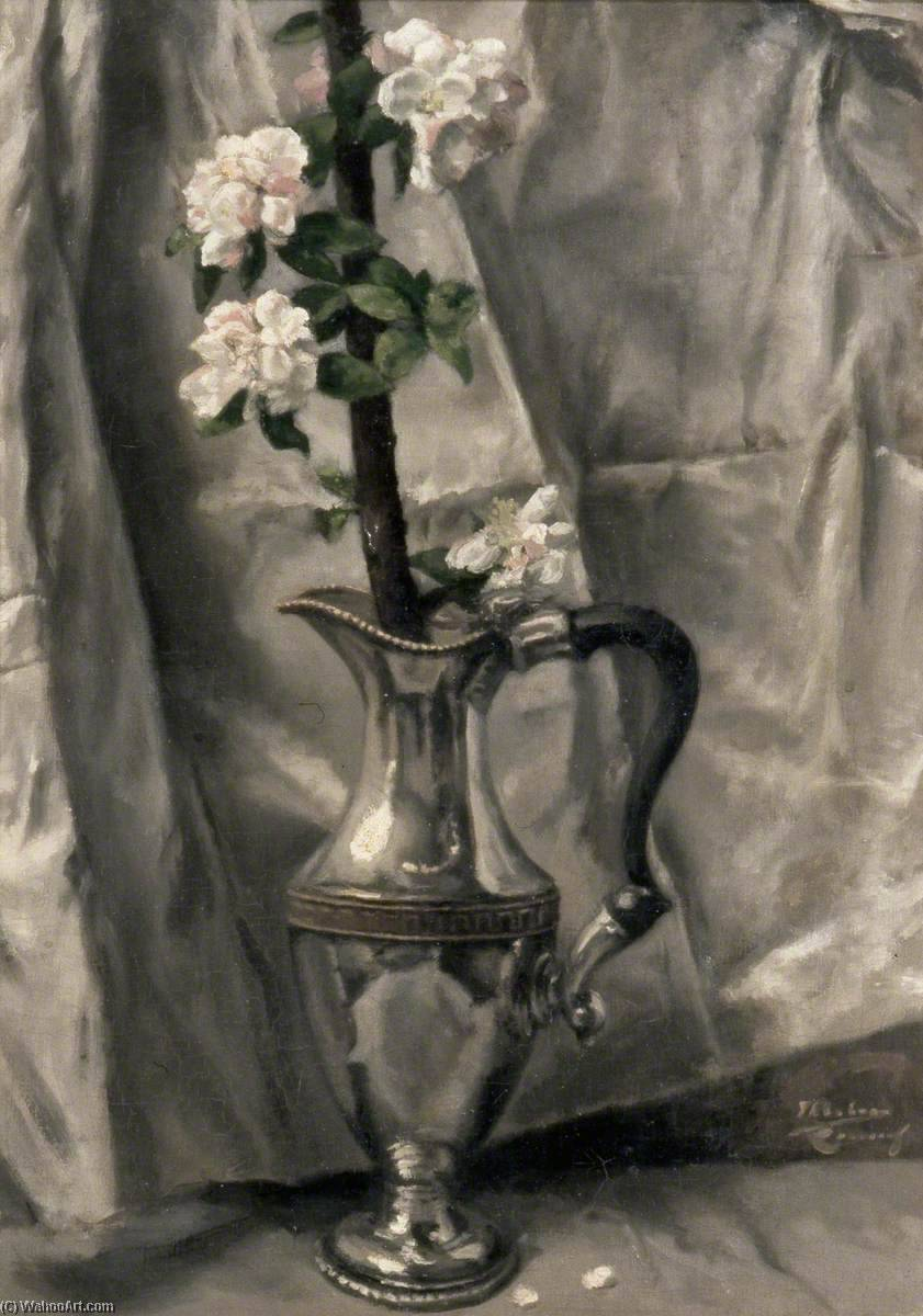 Grey and Silver by Théodore Casimir Roussel (1847-1926, France) | Oil Painting | WahooArt.com