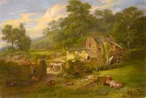 James Leakey - The Mill at Berry Pomeroy, Devon