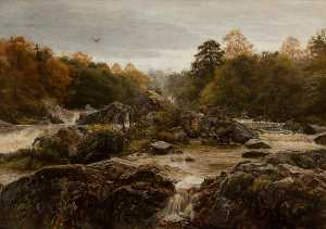 John Everett Millais - The Sound of Many Waters