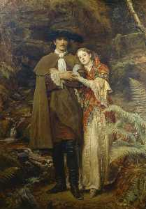John Everett Millais - The Bride of Lammermoor