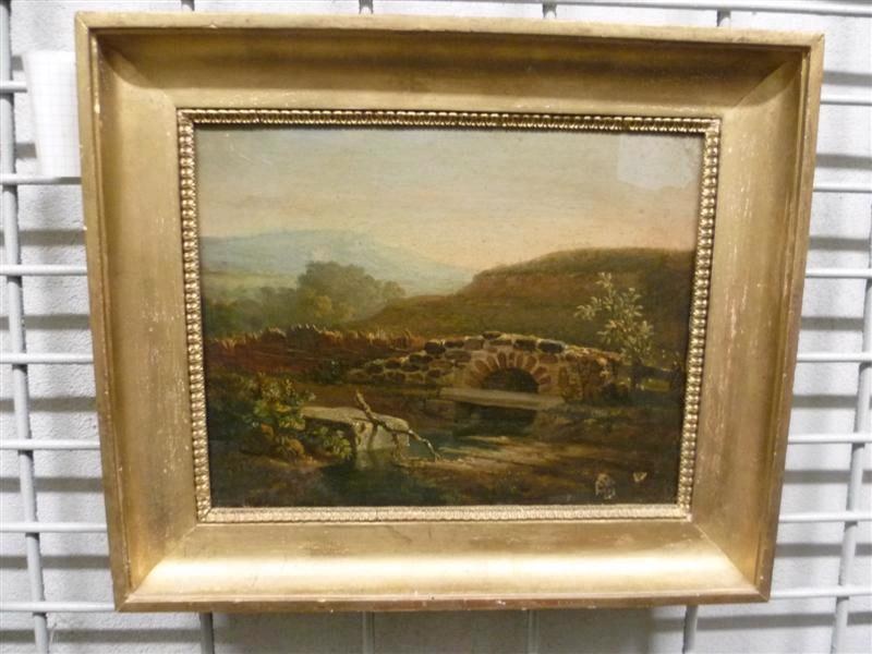 Paysage, étude by Auguste Xavier Leprince (1799-1826, France) | Oil Painting | WahooArt.com