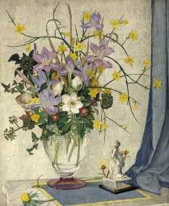Maxwell Ashby Armfield - January Flowers