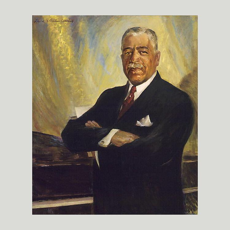Harry Thacker Burleigh, 1946 by Laura Wheeler Waring (1880-1948, United States) | Art Reproductions Laura Wheeler Waring | WahooArt.com