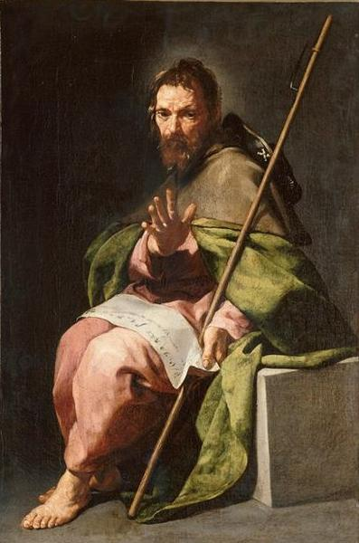 Saint Jacques le Majeur by Alonso Cano (1601-1667, Spain) | Museum Quality Copies Alonso Cano | WahooArt.com
