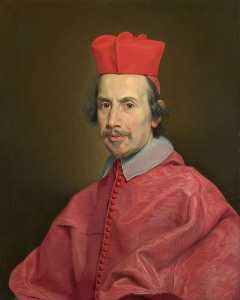 Giovanni Battista Gaulli (Baciccio) - Portrait of Cardinal Marco Gallo