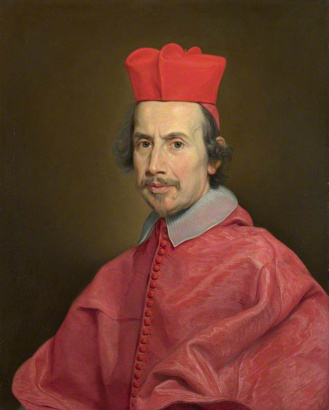 Buy Museum Art Reproductions | Portrait of Cardinal Marco Gallo, 1681 by Giovanni Battista Gaulli (Baciccio) (1639-1709) | WahooArt.com