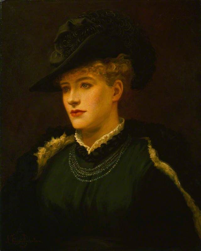 Ellen Terry, 1876 by Johnstone Forbes Robertson (1853-1937, United Kingdom) | Art Reproduction | WahooArt.com