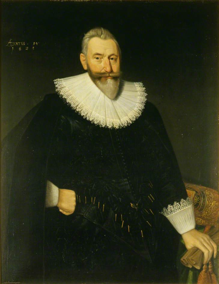 Sir George Hay (1572–1634), 1st Earl of Kinnoull, High Chancellor of Scotland, Oil On Canvas by Adam De Colone