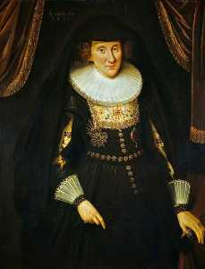 Adam De Colone - Lady Anne Hay (c.1592–1625 1628), Countess of Winton, Wife of the 3rd Earl of Winton