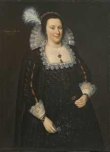 Adam De Colone - Portrait of Lady Margaret Livingstone, 2nd Countess of Wigtown