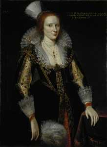 Adam De Colone - Margaret Graham (d.c.1626), Lady Napier, Sister of 1st Marquess of Montrose and Wife of 1st Lord Napier