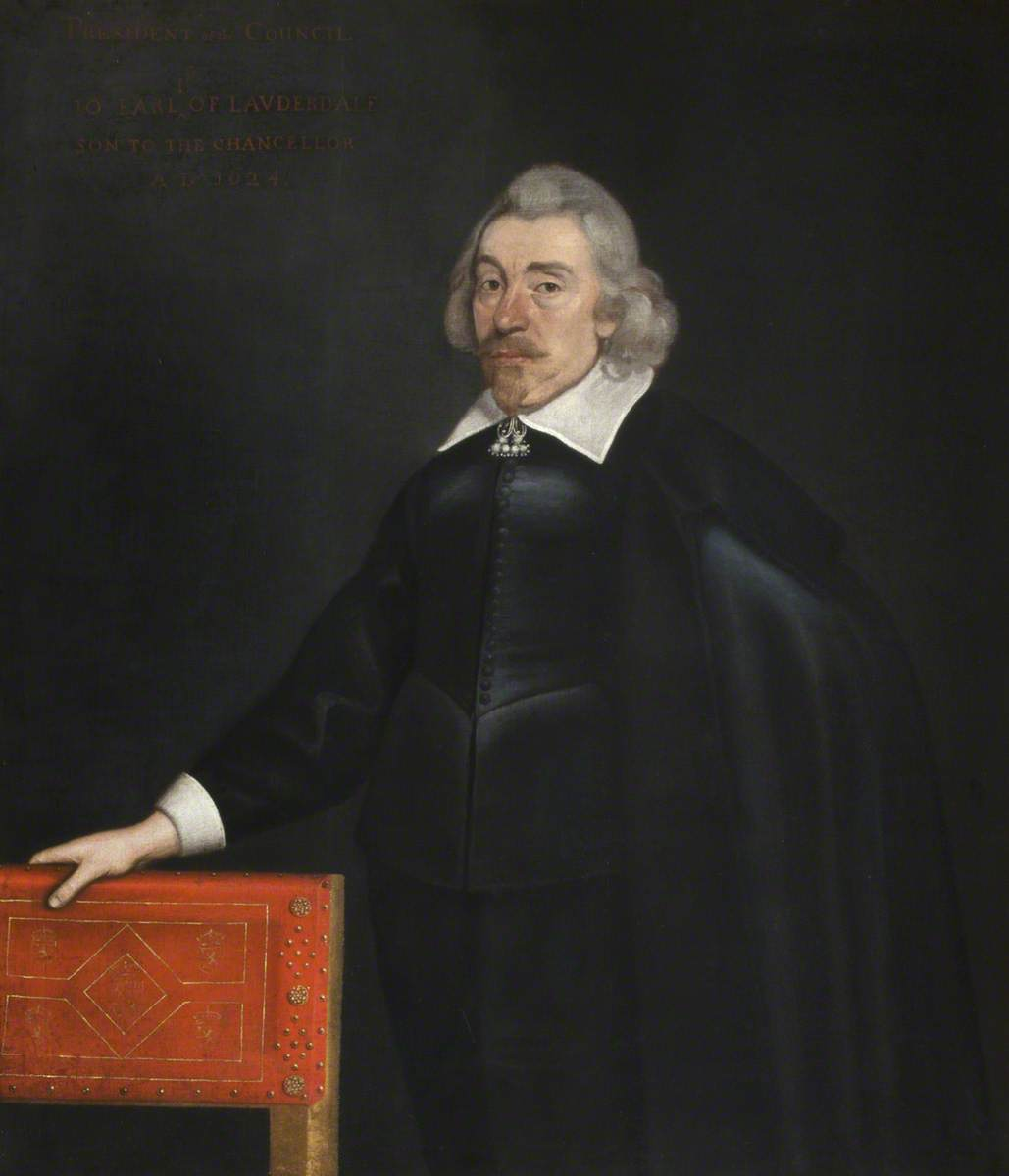 John Maitland (d.1645), 1st Earl of Lauderdale, Oil On Canvas by Adam De Colone