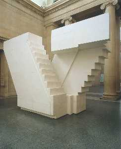 Rachel Whiteread - Untitled (Stairs)