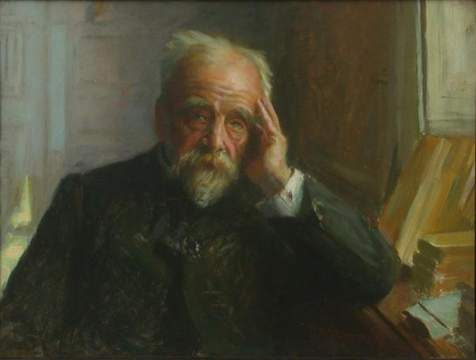 ERNEST LAVISSE by Jean-Joseph Weerts (1846-1927) | Famous Paintings Reproductions | WahooArt.com