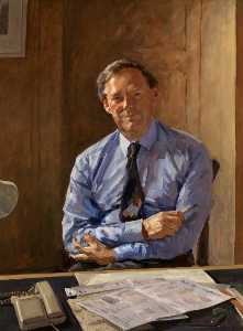Richard Foster - Director General Portrait – Michael Checkland