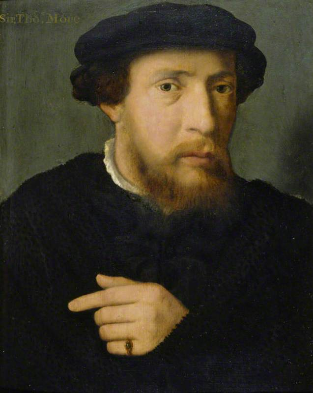 Portrait of a Man in Black with an Emerald Ring, 1540 by Joos Van Cleve (1485-1540, Germany) | Art Reproduction | WahooArt.com