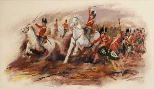 Eric Auld - Scots Greys and Gordons at Waterloo