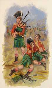 Eric Auld - The Three Pipers at Saint Pierre
