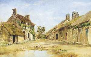 Maurice Levis - A Farmyard, Granville