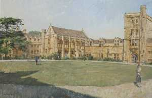 Peter Brown - Mansfield College