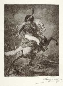 Henry Wolf - Officer of the Mounted Chasseurs