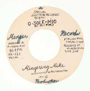Mingering Mike - Minger Records Mingering Mike, O · SOLE · MIO