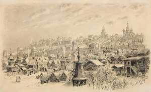 Apollinari Vasnetsov - Moscow in the XVI Century