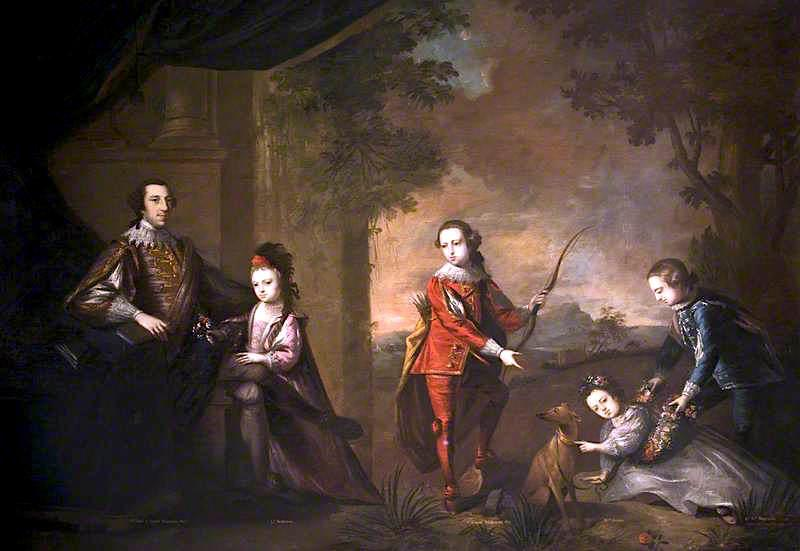 The Molyneux Family of Castledillon, County Armagh, Oil On Canvas by John Astley