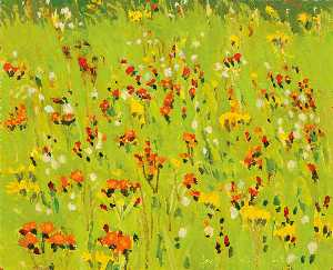 Fairfield Porter - Hawkweed