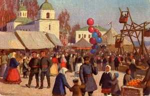 Mikhail Germashev - Easter Festivities