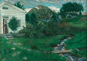 Nikolai Astrup - Early Summer in Jølster