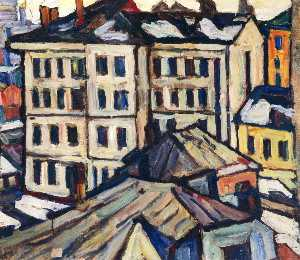 Abraham Manievich - Moscow, Buildings