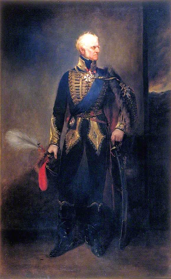 Order Famous Paintings Reproductions : Field Marshal Henry William Paget, 1st Marquess of Anglesey and 2nd Earl of Uxbridge, 1850 by Henry Richard Graves | WahooArt.com