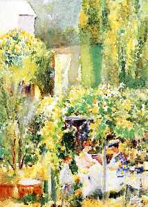 Annie G Sykes - Garden Tea Party