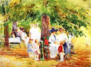 Annie G Sykes - Mothers and Children, Burnet Woods, Cincinnati