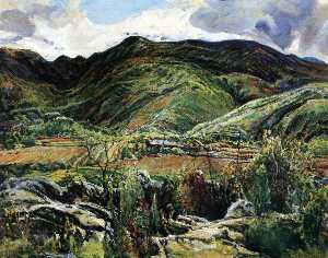 Charles Reiffel - Mountain Ranch after the Rain